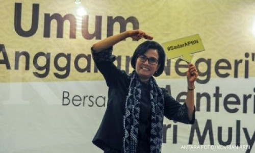Sri Mulyani ikut tren Mannequin Challenge