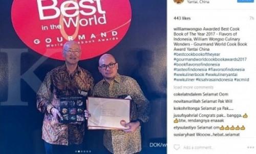 Flavours of Indonesia jadi buku terbaik tahun ini