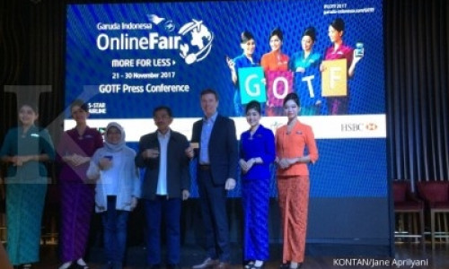 Garuda Indonesia Online Fair digelar pekan ini